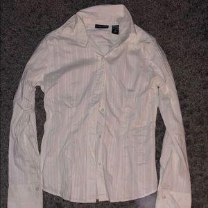Woman's NY&C button up dress shirt